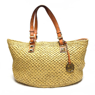 MICHAEL by Michael Kors Straw Handbag