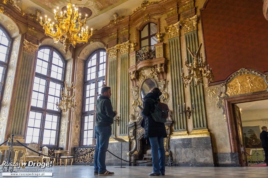 Wnętrza Zamku Książ w Wałbrzychu