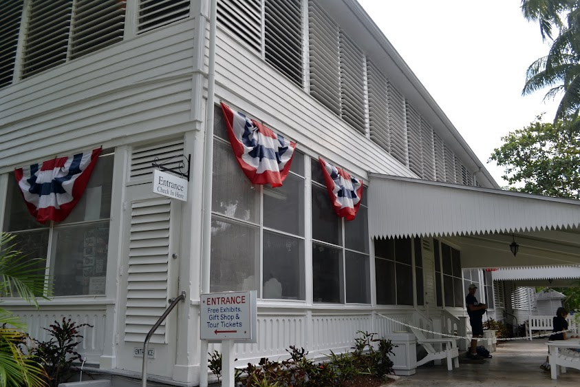 Ки-Уэст, Флорида: Маленький Белый Дом Трумана (Harry S. Truman Little White House, Key West, Florida)