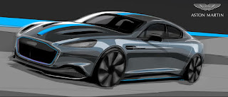 Aston Martin just announced its first electric car