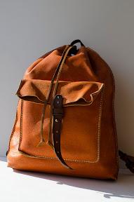 Кожаный рюкзак ручной работы art 130 PG