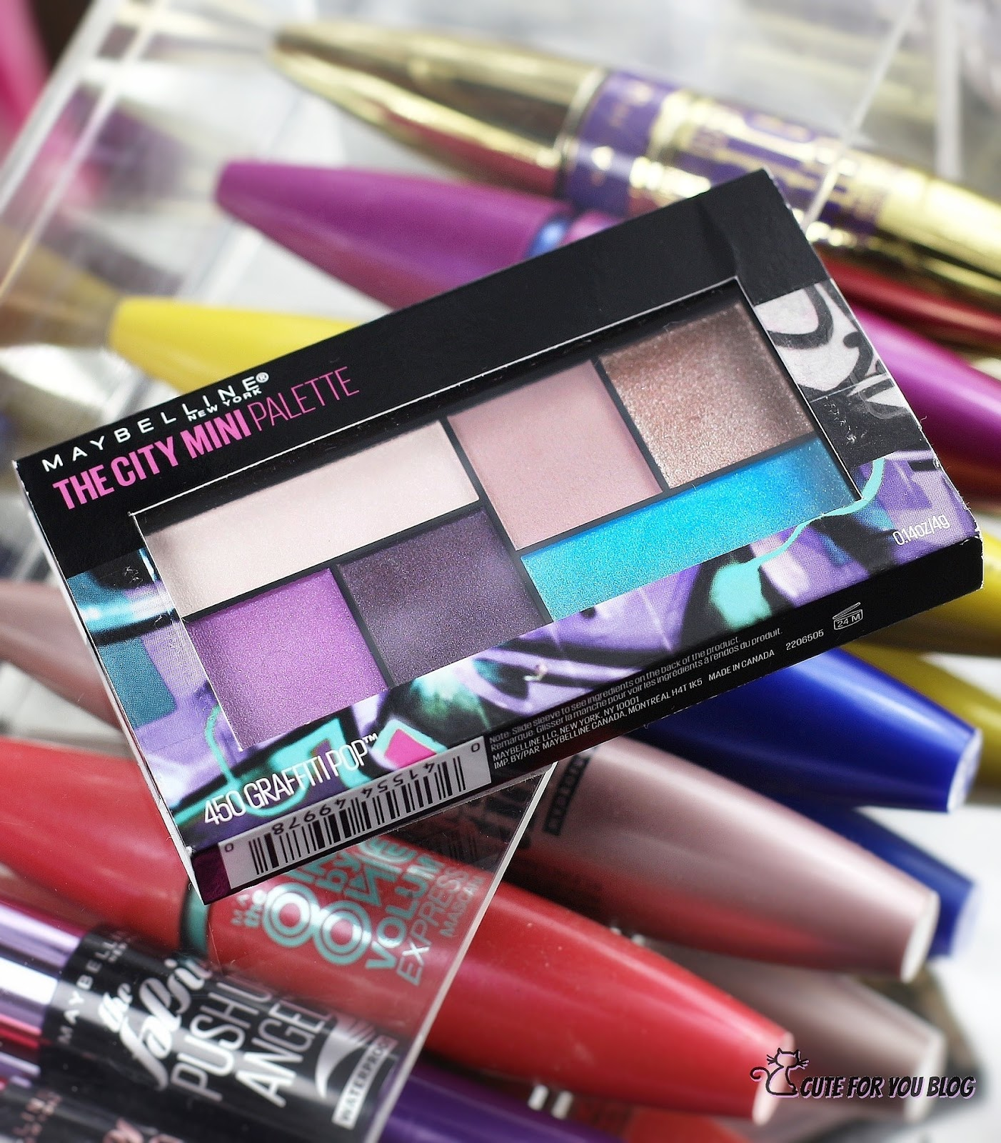 Maybelline Argentina, maybelline maquillaje, maybelline paletas, paleta maybelline, paleta de sombras maybelline, productos maybelline Argentina, reseñas maybelline, reseña paleta maybelline, the city mini palette maybelline, the city mini palette graffiti pop maybelline, sombras de ojos maybelline, Blogger Argentina, Blog de maquillaje argentina, beauty Blogger Argentina, cute for You Blog, karo_by_cuteforyou_blog, Karolina Luke Blog, maybellinearg, maybelline New York Argentina, the falsies Push Up Angel, swatches maybelline, swatches the city mini palette graffiti pop