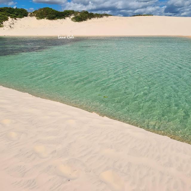 ircuito da Lagoa Azul em Barreirinhas, Lençóis Maranhenses.