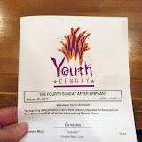 Youth Sunday 2016 (Jan. 31)