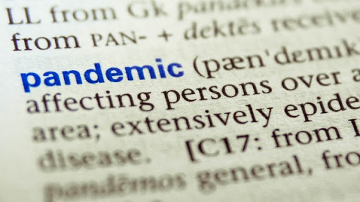 'Pandemic' Is Named As 2020's Word Of The Year