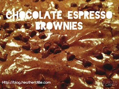 Chocolate Espresso Brownies!!