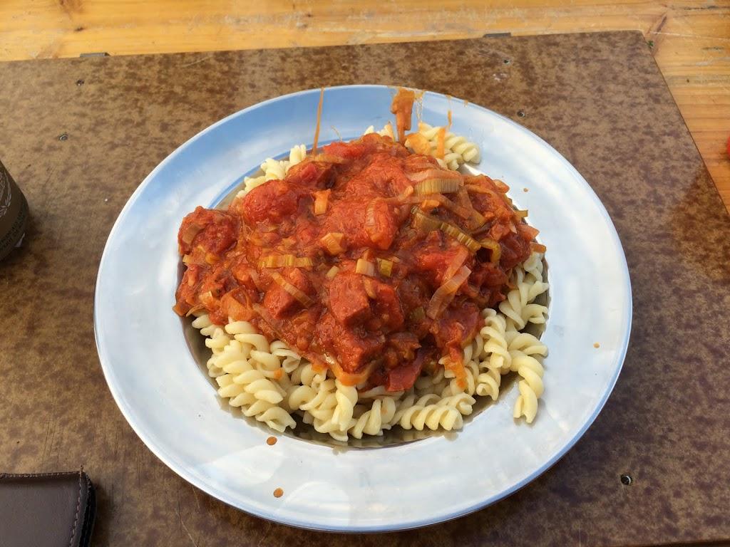 Bordje voedzame pasta