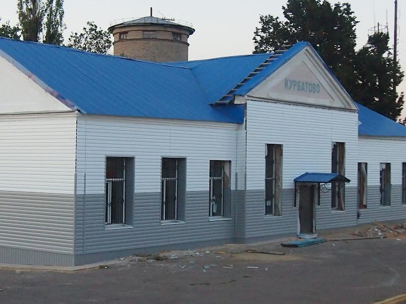 железная дорога, Курбатово