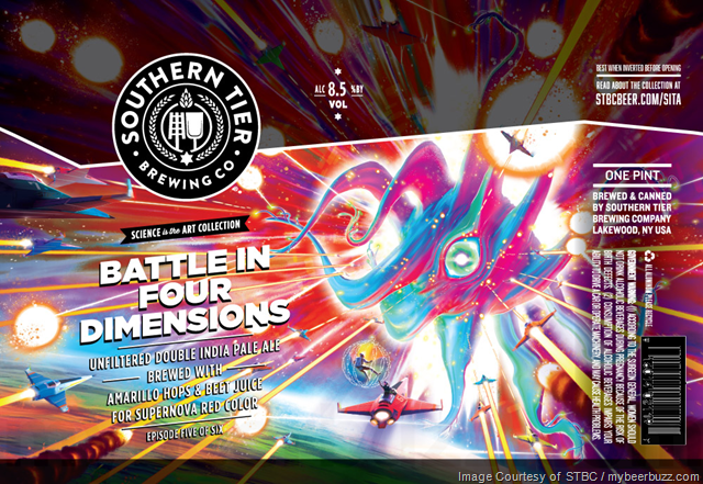 Southern Tier Battle In Four Dimensions Coming To Science Is The Art Collection