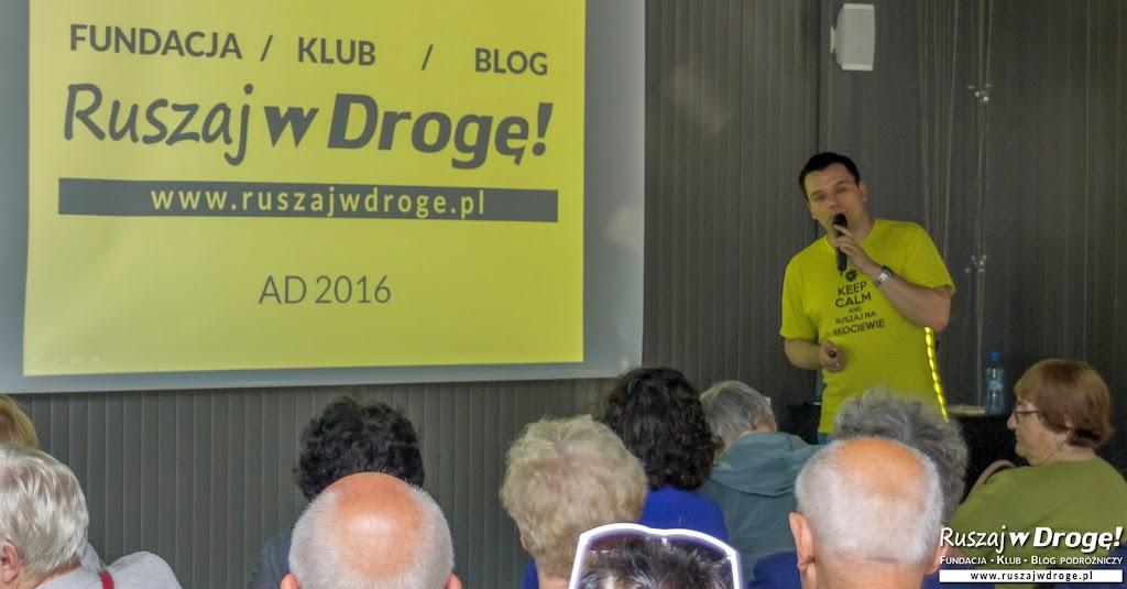 Fundacja dla polskiej turystyki,  Klub i Blog Ruszaj w Drogę