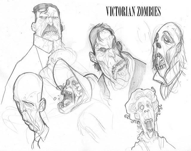 Zombies Christmas Carol