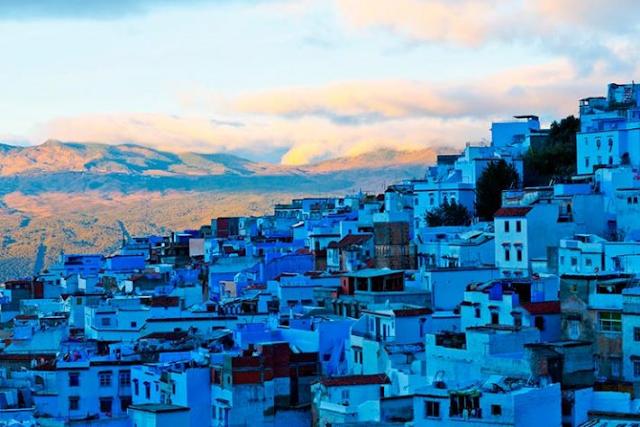 Chefchaouen a cidade azul do Marrocos