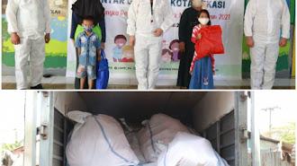 Cegah Anak-anak Terpapar COVID-19, Kemen PPPA Salurkan Bantuan di Bantar Gebang
