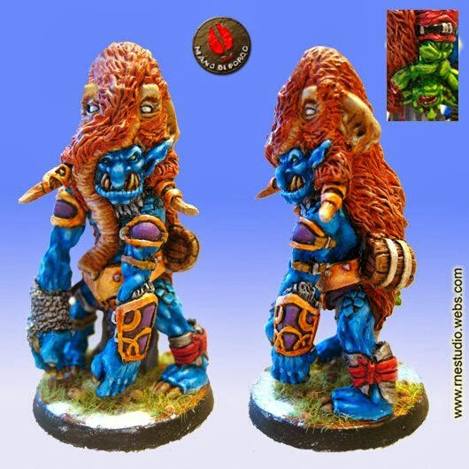 Blood Bowl Troll Mano di porco