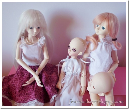 New Arrival: A Mystic Kids Doll Review: The doll family portrait