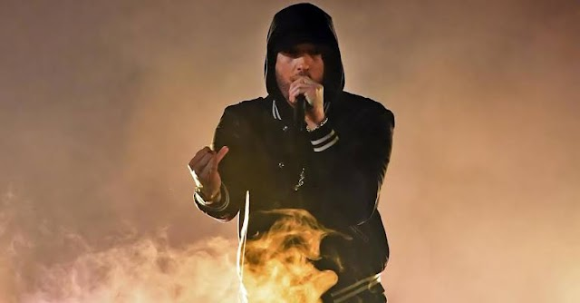 EMINEM BREAKS WORLD SPEED RECORD WITH 'GODZILLA' VERSE