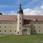 Château de Malesherbes : grange aux dîmes
