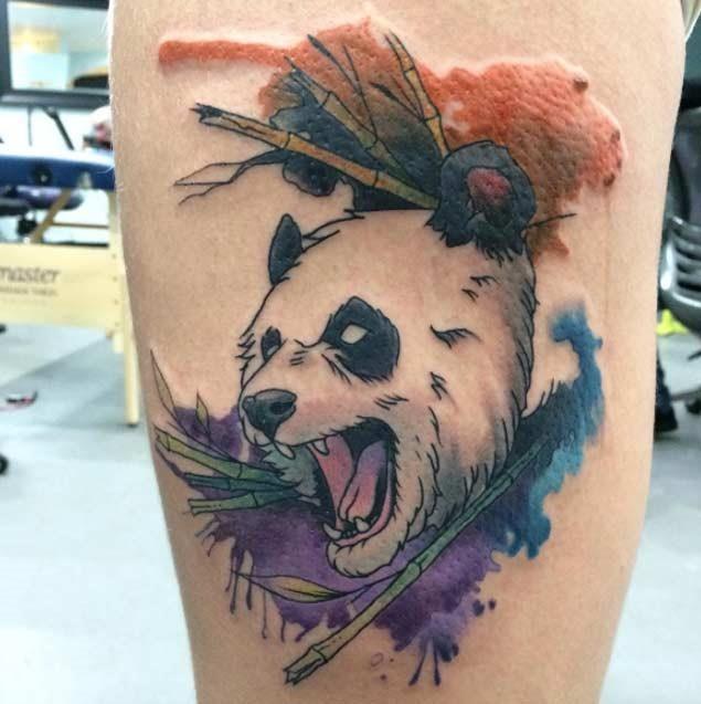 Este angry panda
