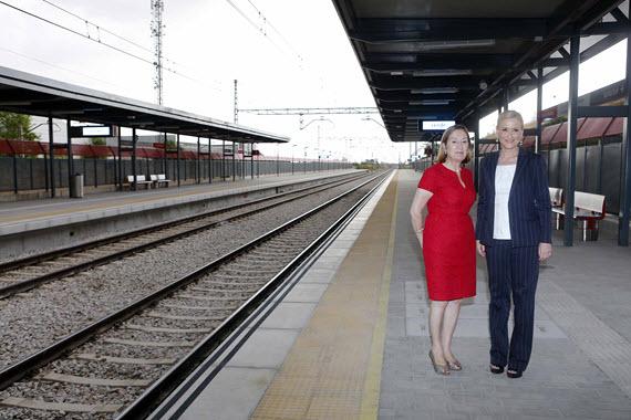 Inaugurada la nueva estación de Cercanías de Soto del Henares, en Torrejón de Ardoz