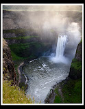 """Palouse Falls Morning"" by Valerie Henschel -- 1st Place Digital General A"