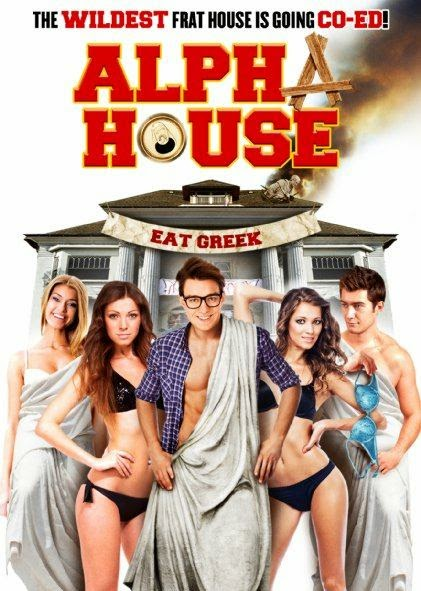 Poster Of English Movie Alpha House (2014) Free Download Full New Hollywood Movie Watch Online At alldownloads4u.com