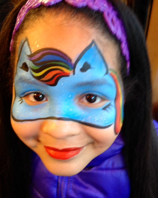 VERY CREATIVE FACE PAINTING IDEAS  FOR KIDS 5