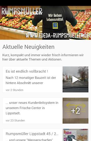 android Frische-Center Rumpsmüller Screenshot 0