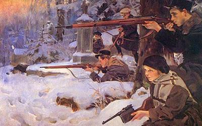 Польско-Украинская война. Львов (1918)