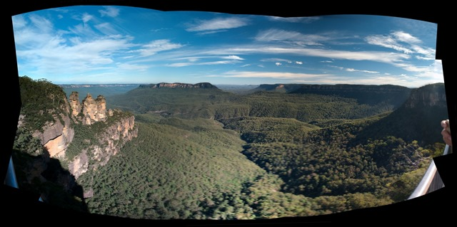 Echo Point Panorama