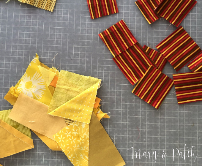 How to work with an underlying structure improv quilt