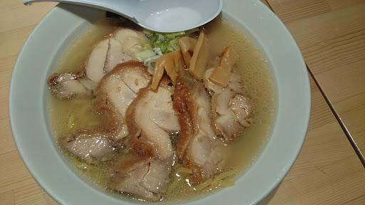 [写真]鶏白湯チャーシュー麺