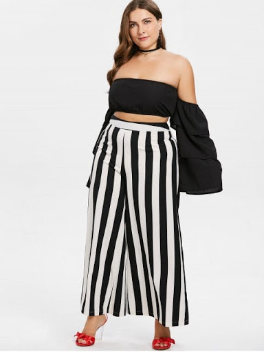 Zaful-cropped-top-preto-black-plus size