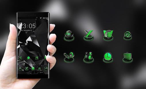 Приложения в google play cool black launcher neon green upcoming