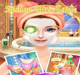 لعبة صالون البنات الهندية مجانا