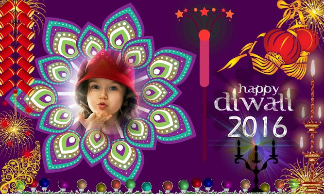 Diwali Photo Frames FREE - screenshot