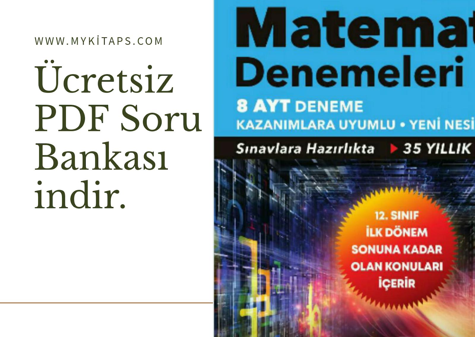 8 AYT Matematik Deneme PDF indir (Güncel) 2021