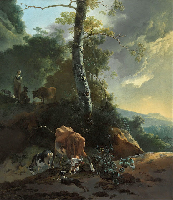 Adam Pynacker - Landscape with enraged ox - Google Art Project