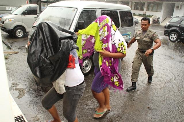 Sat Pol PP Ngawi  Lakukan Operasi Di Lokalisasi Alas Aalang