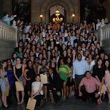 Fotografia de: Els alumnes de Màster i CEU celebren el seu acte de finalització d'estudis | CETT