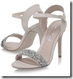 Miss KG nude open toe sandal with embellished strap