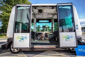 Wouw, Di kota ini Bus tanpa Supir sudah Mulai Beroperasi
