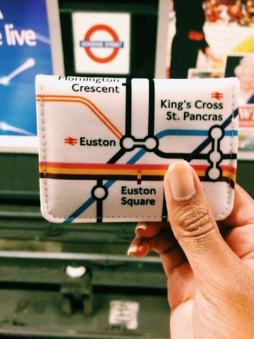TFL Tube map pass case from Paperachase