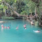 Vang Vieng - Rollertour in die Umgebung - Blaue Lagune