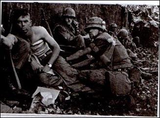 tentara AS yang terluka dalam perang Vietnam
