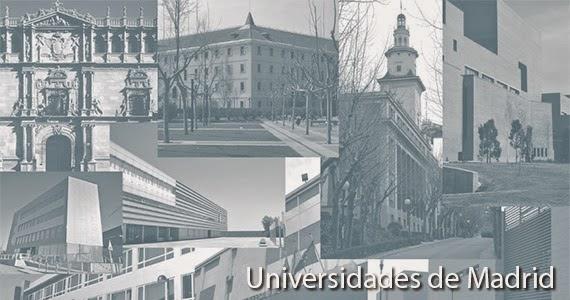 Listado de universidades de madrid es por madrid for Universidad complutense de madrid arquitectura