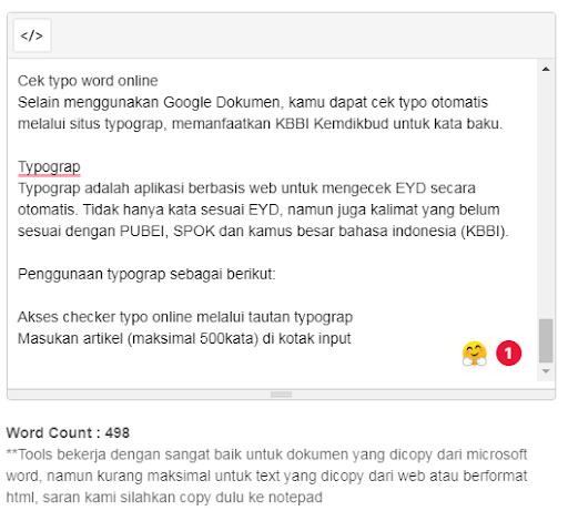 Chek online typograp