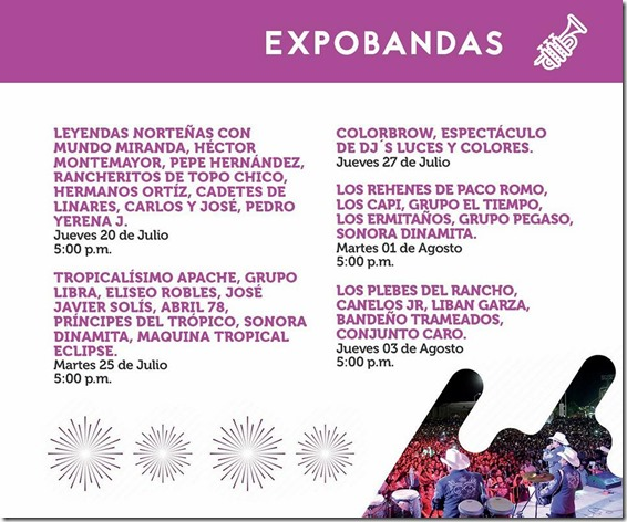 Ver cartelera de conciertos en Feria Nacional Durango 2017 compra boletos en preventa en priemra fila baratos no agotados 2018