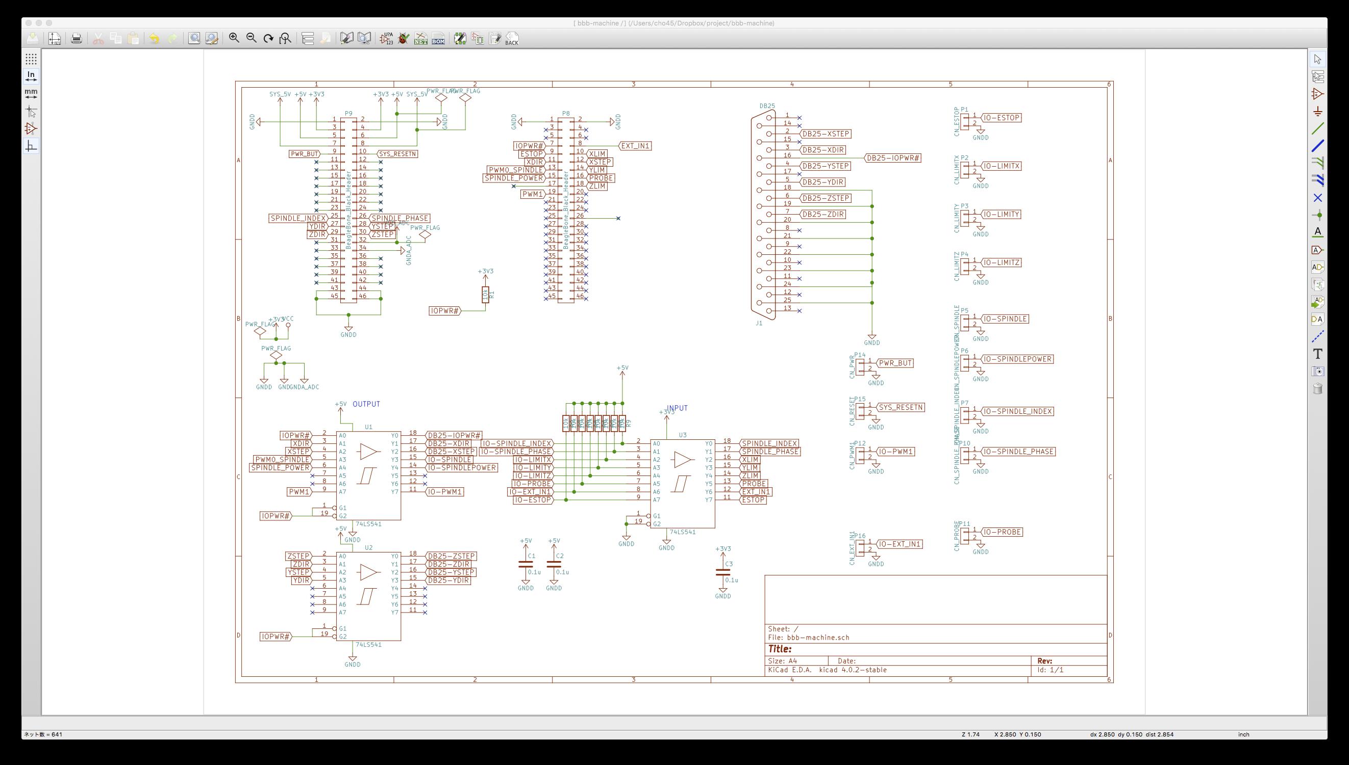 Machinekit - 谷岡のページ