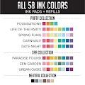 All Inks & Refills Bundle