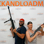#lockandloadmiami MAYHEM! in Miami, Florida, United States